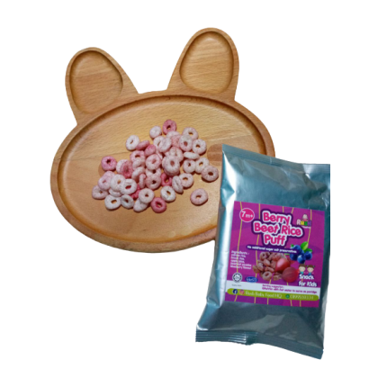 Berry Beet Rice Puff by Rush Baby 10g