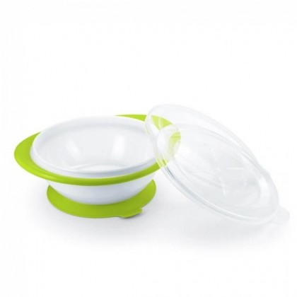 NUK Weaning Bowl with 2 Lids