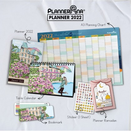 Planner Ana 2022 + 4 Free Gifts